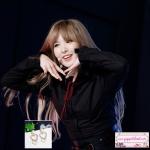 ต่างหูแฟชั่นสไตล์เกาหลี ห่วงหัวใจคริสตัลห้อยมุกระย้า Love Heart Charm Pearl Tassel Pendant Drop Dangle Earrings