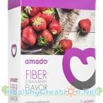 Amado Fiber อะมาโด้ ไฟเบอร์ บรรจุ 5 ซอง ล้างลำไส้ ช่วยขับถ่าย ผลิตจากวัตถุดิบธรรมชาติ