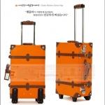 กระเป๋าเดินทางวินเทจเรโทร Orange Brown Classic Original ดีไซน์รุ่นฮิตในซีรี่ยส์เกาหลี ไซส์ 18, 20, 22, 24, 28, 30 นิ้ว หนัง PU high grade *สีนี้พบมากในซีรี่ยส์กาหลีหลายเรื่องค่ะ (Made to Order) ราคากระเป๋าเดินทางแต่ละรุ่นอยู่ด้านในค่ะ