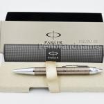 ปากกาแบรนด์เนม Parker รุ่นลูกลื่น Parker IM Premium Brown Shadow BP แท้