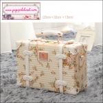 """กระเป๋าสะพายดีไซน์วินเทจ UNIWALKER """"Fresh Floral"""" for Summer 2017 Luggage&Suitcase หนัง PU คุณภาพดี ไซส์ 13 นิ้ว (Pre-order)"""