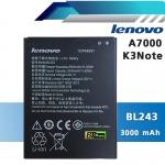 แบตเตอรี่ Lenovo A7000 / K3 Note (BL243)