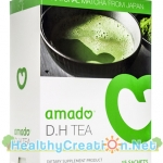 Amado D.H Tea อมาโด้ ดี.เอช ที บรรจุ 15 ซอง ชาเขียว อมาโด้ ช่วยลดและควบคุมระดับน้ำตาลในเส้นเลือด เสริมสร้างภูมิต้านทาน