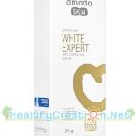 Amado Skin White Expert Spot Corrector Serum ปริมาณสุทธิ 20 g. ซีรั่มเข้มข้นที่ตรงเข้าจัดการกับทั้งจุดด่างดำที่ลดเลือนยาก ช่วยให้ผิวขาว กระจ่างใส