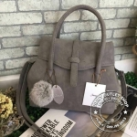 Berke Frink Hand Bag -BGrey Color