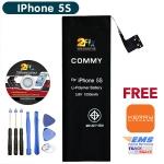 Battery IPhone 5C 5S (COMMY) พร้อมชุดเครื่องมือ และ คู่มือเปลี่ยนเอง