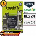 แบตเตอรี่ i-mobile BL-224 i-Style 2.6