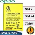 แบตเตอรี่ OPPO Find 7 / Find 7A / X9007 ( BLP569 )
