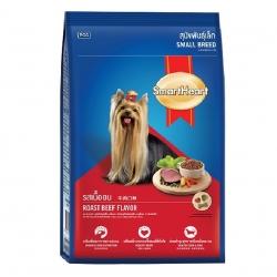 อาหารสุนัข สมาร์ทฮาร์ท สุนัขโต พันธุ์เล็ก รสเนื้ออบ 20 กิโลกรัม ส่งฟรี