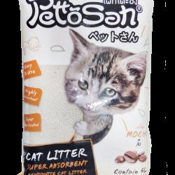 ทรายแมว Pettosan กลิ่นกาแฟ ส่งฟรี
