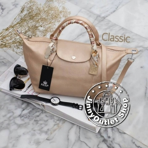KEEP Longchamp Duo Sister-Classic size ( Luxury Gold )