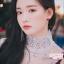 ต่างหูแฟชั่นสไตล์เกาหลี Haul!!! Korean Crystal Love Heart Long Earrings Fashion Jewelry Simulated Pearl Tassel
