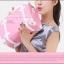 กระเป๋าสะพายวินเทจสไตล์เกาหลี เบบี้พิงค์ไว้ท์ Vintage So Sweet for Girly ไซส์ 12 หรือ 14 นิ้ว Baby pink PU Leather Vintage Korea Style (Pre-order ราคาสินค้าแต่ละไซส์อยู่ด้านในค่ะ)