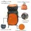 Gotrek ฺB-40C กระเป๋าเป้พับได้ น้ำหนักเบา สีส้ม thumbnail 15