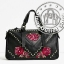 ZARA EMBROIDERED LEATHER BOWLING BAG thumbnail 1
