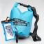 ชุด Set ซองกันน้ำมือถือเล็ก (4.7 นิ้ว) สีฟ้า + กระเป๋ากันน้ำ Penguin Bag ขนาด 5 ลิตร thumbnail 1