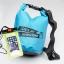 ชุด Set ซองกันน้ำมือถือเล็ก (4.7 นิ้ว) สีเขียว + กระเป๋ากันน้ำ Penguin Bag ขนาด 5 ลิตร thumbnail 1