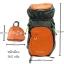 Gotrek ฺB-40C กระเป๋าเป้พับได้ น้ำหนักเบา สีส้ม thumbnail 14