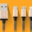สายชาร์จ 3 in 1 iPhone+Micro USB+TYPE-C thumbnail 1