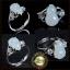 แหวนหัวหยกพม่า สีงาช้าง น้ำเต้าหยก น้ำทิพย์ ดูดทรัพย์