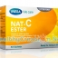 Mega Nat-C Ester เมก้า แนท ซี เอสเตอร์ บรรจุ 30 ซอง วิตามินซีชนิดผง เหมาะสำหรับเด็ก ผู้สูงอายุ หรือ ผู้ที่มีปัญหาโรคกระเพาะที่ต้องการทานวิตามินซี
