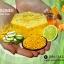 warunee natural soap ขนาด 100 กรัม (ก้อนทรงหกเหลี่ยม) thumbnail 2