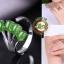 แหวนหัวหยก nephrite สีเขียวมรกต