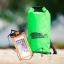 ชุด Set ซองกันน้ำมือถือใหญ่ (6 นิ้ว) สีส้ม + กระเป๋ากันน้ำ Penguin Bag ขนาด 10 ลิตร thumbnail 4