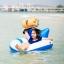 กระเป๋ากันน้ำ ถุงกันน้ำ Penguin Bag ขนาด 10 ลิตร สีฟ้า thumbnail 6