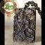 เทพเจ้ากวนอู 關羽 ปางปราบกบฏ พญามังกร หินออบซิเดียนสีดำ(หินภูเขาไฟ) เนื้อสีดำใส