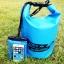 ชุด Set ซองกันน้ำมือถือเล็ก (4.5 นิ้ว) สีฟ้า + กระเป๋ากันน้ำ Penguin Bag ขนาด 5 ลิตร thumbnail 1