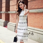 Normal Ally Present Flower Lace Boutique dress