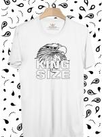 BP267 เสื้อยืด King Size of Eagle