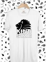 BP266 เสื้อยืด King Size of Lion