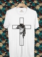 BP83 เสื้อยืด The Face of Jesus