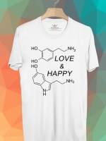 BP187 เสื้อยืด สารเคมีแห่งรัก #1