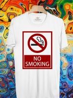 BP444 เสื้อยืด No Smoking