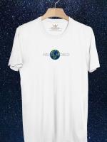 BP355 เสื้อยืด HELLO WORLD