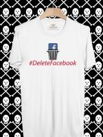 BP374 เสื้อยืด #DeleteFacebook #4
