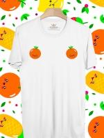 BP377 เสื้อยืด ส้ม