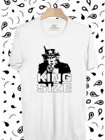 BP269 เสื้อยืด King Size of Uncle Sam