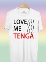 BP442 เสื้อยืด Love Me Tenga