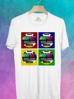 BP45 เสื้อยืด Pattern TV #4