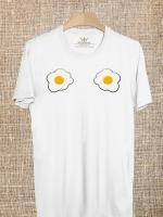 BP92 เสื้อยืด ไข่ดาว