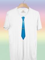 BP154 เสื้อยืด เนคไท #9