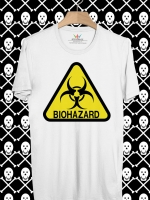 BP13 เสื้อยืด BIOHAZARD