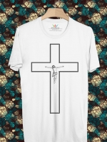 BP82 เสื้อยืด Cross Jesus