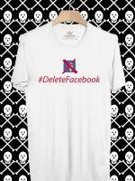BP372 เสื้อยืด #DeleteFacebook #2