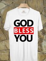 BP247 เสื้อยืด GOD BLESS YOU