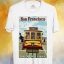 BP127 เสื้อยืด Retro City : San Francisco thumbnail 1